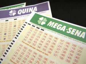 Mega-Sena pode pagar prêmio de R$ 22 milhões neste sábado (Foto: Nathália Duarte/G1)