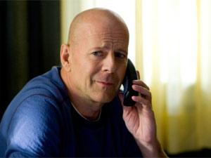 Bruce Willis em cena do filme 'Red'