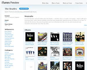 Catálogo dos Beatles é disponibilizado em loja virtual da Apple.