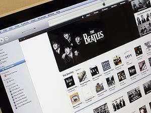 Beatles à venda no iTunes (Foto: Reuters)