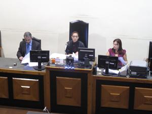 Audiência do caso Eliza, no Rio