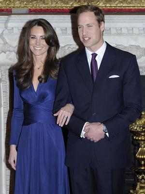 Kate e William anunciaram o noivado na última terça (16)