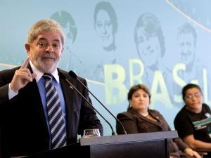 Presidente Lula durante 2ª Conferência Nacional de Economia Familiar nesta quarta-feira (17).