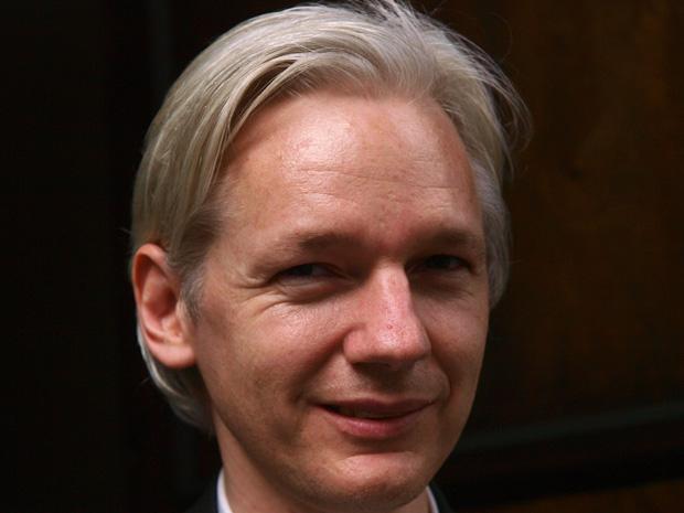 Julian Assange em foto de 27 de julho.
