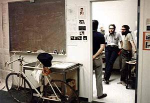 Laboratório da Xerox no Vale do Silício, nos anos 70.