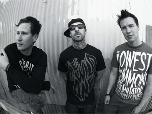 A banda californiana Blink-182