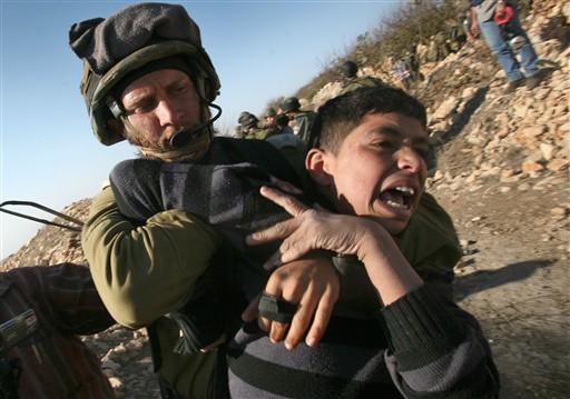 Israel reprime protesto na Cisjordânia (Hazem Bader/AFP)