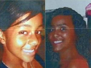 Janaína Brito Conceição, de 16 anos, e Gabriela Alves Nunes, de 13 anos, foram encontradas decapitadas.