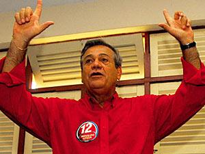 O ex-governador de Alagoas Ronaldo Lessa (PDT), em outubro passado