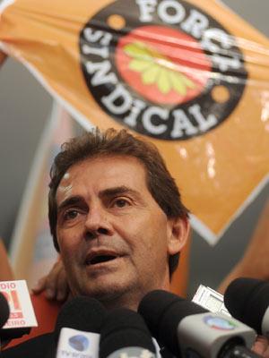 O deputado Paulo Pereira da Silva (PDT-SP), o Paulinho da Força