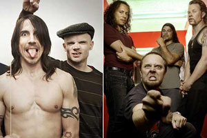 Red Hot Chili Peppers e Metallica