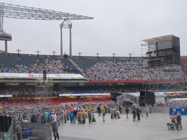 Fas de Paul McCartney no Estádio do Morumbi