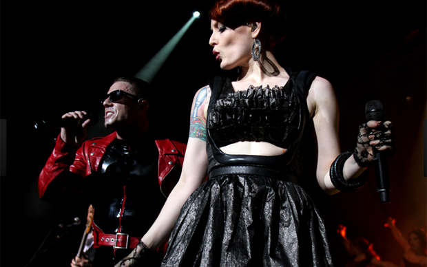 Jake Shears e Ana Matronic