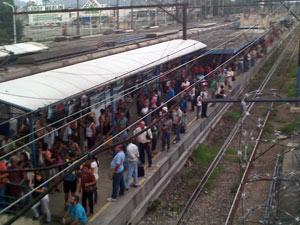 Tumulto trem