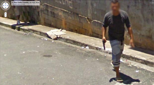 Google Street View arma Jaraguá São Paulo