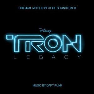 Capa da trilha-sonora do filme 'Tron - legacy'