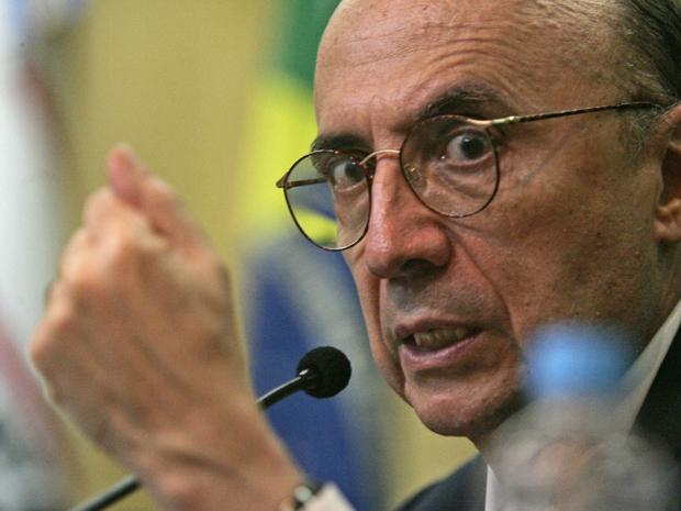 Henrique Meirelles, em evento na segunda-feira.