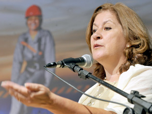 A coordenadora do Programa de Aceleração do Crescimento, Míriam Belchior, é confirmada para o Ministério do Planejamento