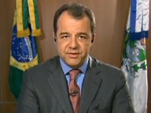 Sérgio Cabral Jornal Nacional