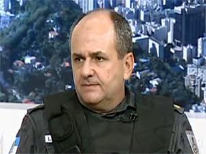 coronel lima castro - relações públicas polícia militar rio