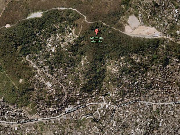 Complexo faz limite com seis bairros vizinhos.