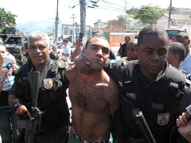 Assassino de Tim Lopes não estava armado no momento da prisão