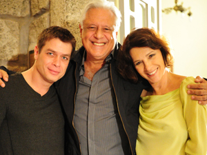 Fábio Assunção, Antonio Fagundes e Natália do Vale