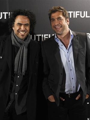 Alejandro González Iñárritu e Javier Bardem