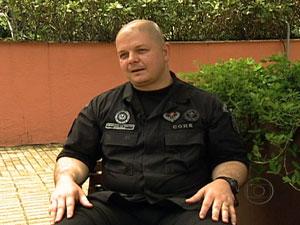 Rodrigo Oliveira participou diretamente das ações no Alemão