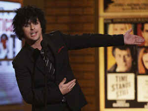 Billie Joe Armstrong, vocalista do Green Day (Foto: Richard Drew/AP)
