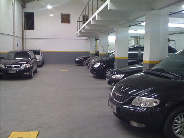 Frota da locadora de carros blindados Executive
