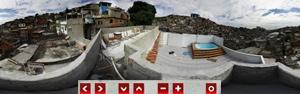 Veja imagens em 360º do conjunto do  Alemão e da Vila Cruzeiro (Lucíola Villela/G1)