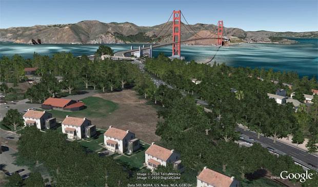 Nova versão do Google Earth