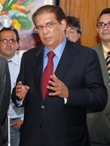 Jader Barbalho em imagem de fevereiro de 2010