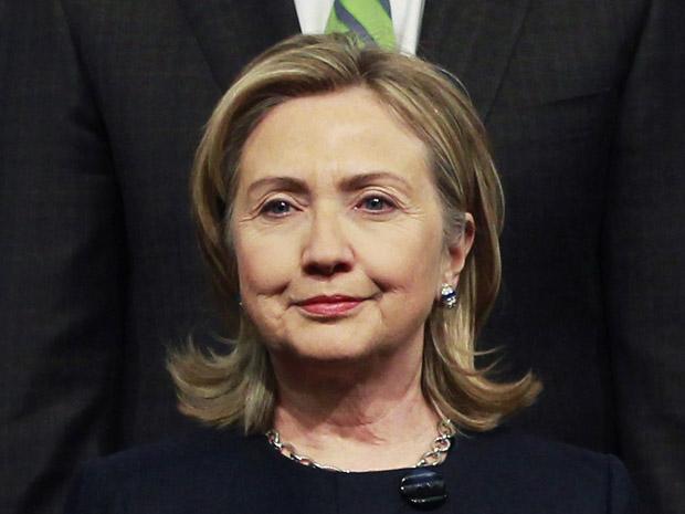 A secretária de Estado dos EUA, Hillary Clinton, durante encontro da OSCE em Astana nesta quarta-feira (1º).