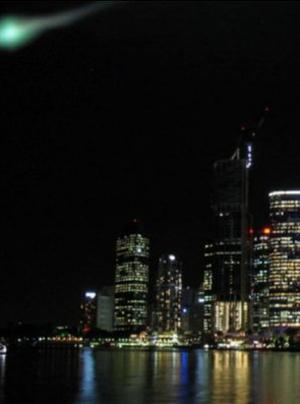 Objetps observados no céu de Brisbane em 2006