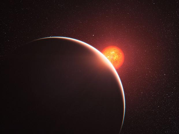 Exoplaneta GJ 1214b 1 (Foto: L. Calçada / ESO)