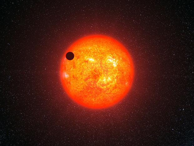 Exoplaneta GJ 1214b 2