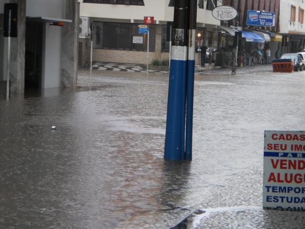Chuva em SC
