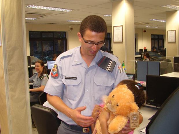 Sequestrada agradece a policiais