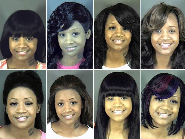Alguns dos looks usados por Kaylin Ransom.