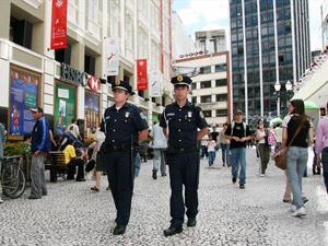 Policiamento no centro de Curitiba será reforçado