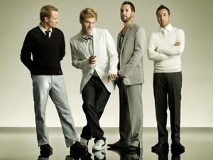 A banda americana Backstreet Boys