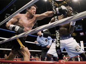 Sylvester Stallone em cena de 'Rocky Balboa', filme mais recente da franquia, lançado em dezembro de 2006 (Foto: Divulgação)