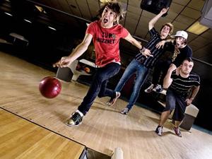 fotos imagens A banda americana All Time Low