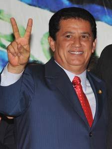 O presidente nacional do PR, Alfredo Nascimento, indicado para o Ministério dos Transportes