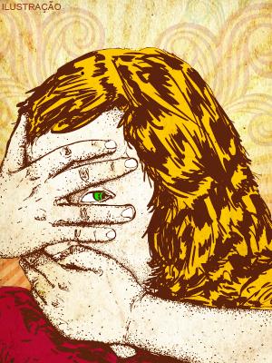 Ilustração psicóloga
