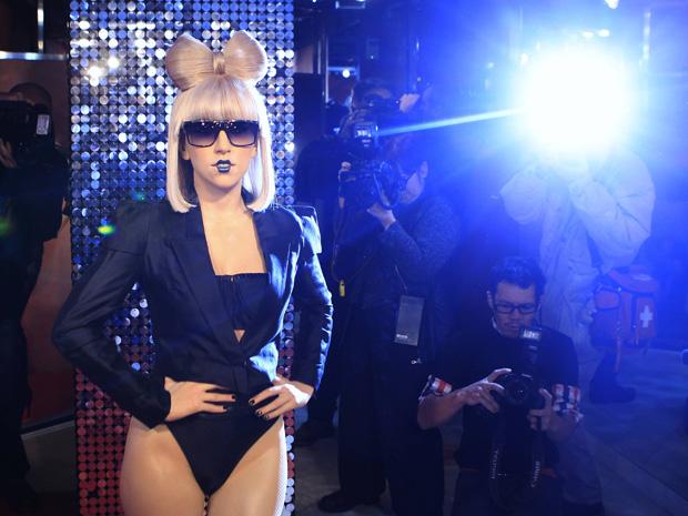 Lady Gaga de cera exibida em Berlim