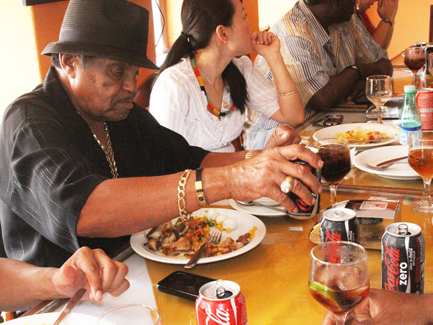 Joe Jackson visita a Bahia