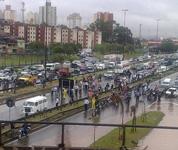 Marginal Tietê chuva